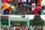 BSMI Jatim Gotong – Royong Bersihkan Lumpur Sekolah MAN 2 Bima