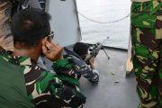 KRI Sultan Iskandar Muda -367 Tembakan Meriam 76 MM