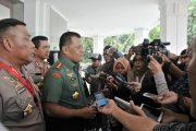 Panglima TNI : TNI-Polri Harus Solid dan Waspadai Ancaman Yang Mungkin Terjadi