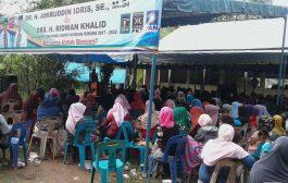 Pasangan Amiruddin Idris-Ridwan Khalid Temu Ramah Masyarakat Reulet
