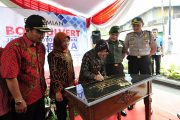 Wali Kota Resmikan Box Culvert Jalan Sidotopo Wetan