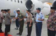Danrem 083 Sambut Lawatan RI 2 di Malang