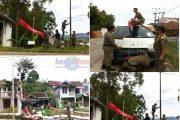 Aksi Satpol PP Unit Kecamatan Rancabali Mendapat Respon Positif