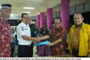 Jajaran DPRD Padang dan Walikota Saksikan Serah Terima Blok IV Pasar Raya Padang