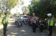 20 Pelanggar Lalin Terjaring Operasi Rutin di Sampang
