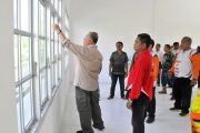 Bupati Tinjau Pembangunan Gedung Sekolah dan Infrastruktur