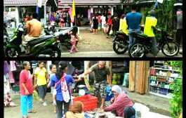 Pasar Desa Singapura Sudah Operasi