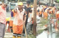 Camat Koja Pimpin Penanganan Genangan Air di Jl. Plumpang Semper