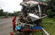 Kecelakaan Dihutan Baluran, Sopir Truk Kakinya Hancur