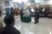 Nasrun P. Elake Resmi Menjabat Sekda Fakfak