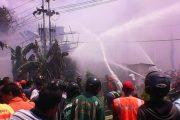 Lima Ruko Terbakar di Malam Perayaan Imlek Pontianak