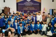 Pelantikan PMII Surabaya, Imam Nahrawi Berikan Petuah
