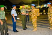 175 Prajurit TNI Konga XX-N Misi Pasukan Perdamaian tiba di Kongo