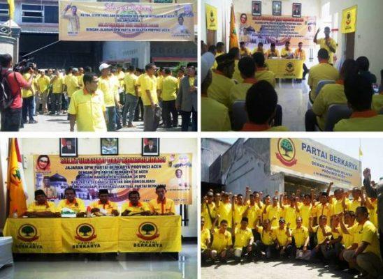 Partai Berkarya Adakan Rapat Konsolidasi Se Aceh