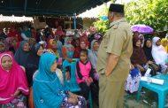 H Saifannur,S.Sos – Dr H Muzakkar,SH,M.Si  Jalin Kasih Dengan Masyarakat Lapihan