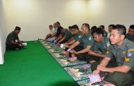 Wartawan dan Anggota Pendam IM Baca Yasin di Hut Ke 66
