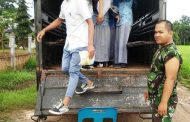 Bus Sekolah Rusak, Kodim Aceh Utara Bantu Angkut Pelajar