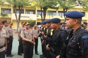 300 Personil Brimob Polda Jatim Ikut Amankan Pilkada di Aceh