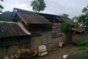 Akibat Puting Beliung,  Rumah Warga Rusak Parah Diwilayah Halbar & Kepsul