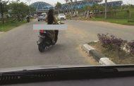 Ini Dia Wanita Bugil Asal Sukabumi di Bandara Supadio Kubu Raya