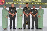 Letkol ABD Razak Rangkuti  Jabat DANDIM 1501/Ternate