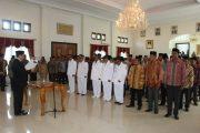 Bupati Kabupaten Kepulaun Sula Lantik 96. Pejabat Eslon III