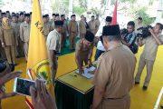 Pejabat Esalon III & IV Lingkup Pemkab Taliabu Dilantik