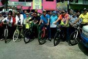 Camat Tanjung Priuk Buat Trobosan Jumling Sembari Bersepeda