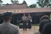 Wakapolda Malut Ambil Apel PAM Pilkada diPolres  Morotai