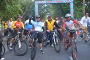 2000 Biker Ramaikan Fun Bike HUT Pomal Ke 71 Denpasar