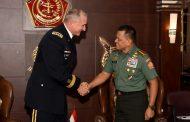 Panglima TNI Terima Kunjungan Commanding General USARPAC di Mabes TNI