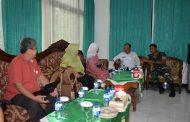 Direktur Pembiayaan Pertanian Kementan RI Kunjungi Kodim Trenggalek.