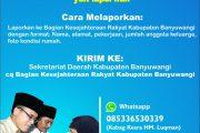Banyuwangi Sebar Nomor Call Center untuk Laporkan Lansia Papa