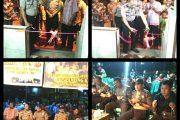 Kapolsek Baturaja Timur Resmikan Pos Kamling di Kelurahan Kemelak