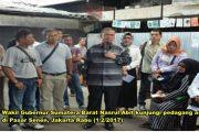 Dikunjungi Wagub Sumbar, Ini Keluhan Pedagang Minang di Pasar Senen