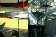 Korban Luka -Luka, Tabrakan Beruntun Antara Truck Vs Sepeda Motor