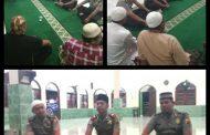 Silaturahmi Kasat Binmas Polres OKU dengan Tokoh Agama Kelurahan Kemelak
