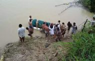 Heboh, Jenazah 'Berenang' Menuju Kuburan di Semarang