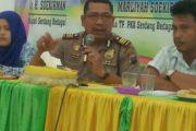Kapolsek Teluk Mengkudu Mediasi  PT Socfindo Dengan Warga