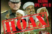 Kapuspen TNI : Poster Aksi Damai Bela Islam 5, Menampilkan Gambar Panglima TNI Adalah HOAX