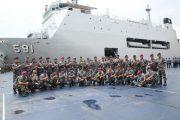 Pangarmatim Bersama 38 PATI Bersiap Ikuti AKS TNI AL di Lampung
