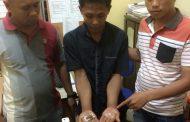 """Buruh Kilang Padi """"Nyambi"""" Jual Sabu Diamankan Polisi"""