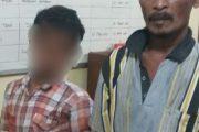 Dua Pelaku Pencurian Sawit Diamankan Polsek Firdaus