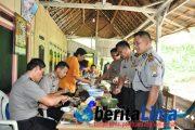 Kesederhanaan Kapolres Situbondo Mendapat Simpati Dari Warga Dusun Pegunungan