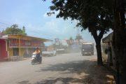 Jalan Berdebu, Warga Terserang ISPA