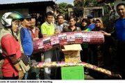 Anggota DPRD PadangKunjungi Korban Kebakaran Ganting