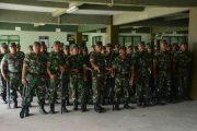 Ratusan Prajurit TNI AD di Siagakan