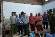 Bupati Bondowoso Kunjungi Sekolah SMP 4 NU Yang Ambruk