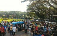 Organda Malang Demo Tuntut Tutup Transportasi Online