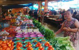 Harga Sayur di Pasar Basanohi Masih Terpantau Tinggi